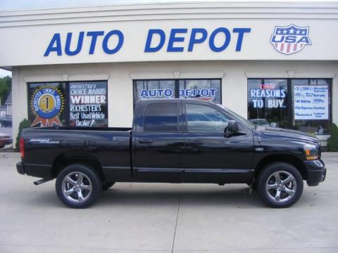 Auto Depot Farmville Nc Inventory >> Used 2006 Dodge Ram 1500 Night Runner Quad Cab 4x4 for ...