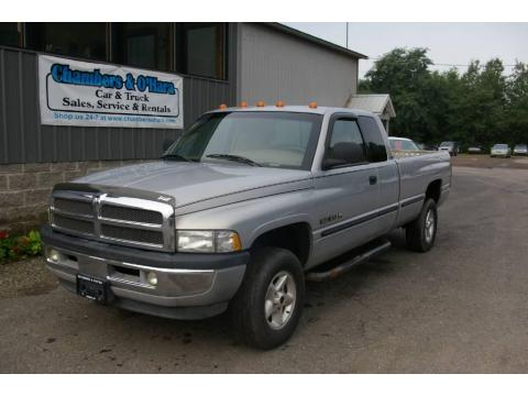 Silver Metallic Dodge Ram 1500 SLT Extended Cab 4x4.  Click to enlarge.