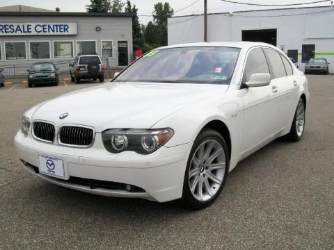 Alpine White BMW 7 Series 745i Sedan Click To Enlarge