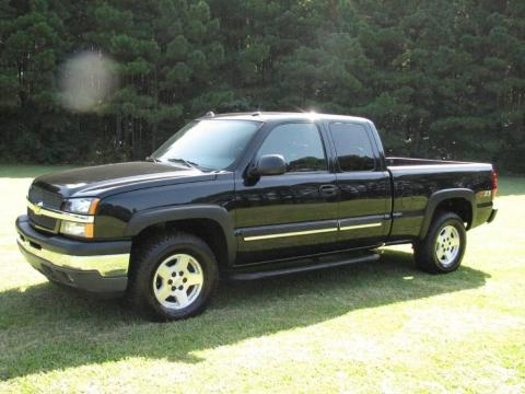 used 2005 chevrolet silverado 1500 z71 extended cab 4x4 for sale stock 80295. Black Bedroom Furniture Sets. Home Design Ideas