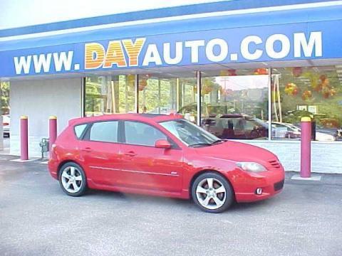 used 2004 mazda mazda3 s hatchback for sale stock purp9 153a dealer car ad. Black Bedroom Furniture Sets. Home Design Ideas