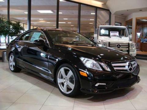 New 2010 Mercedes Benz E 550 Coupe For Sale Stock