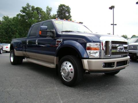 Used 2008 Ford F450 Super Duty King Ranch Crew Cab 4x4 Dually for Sale