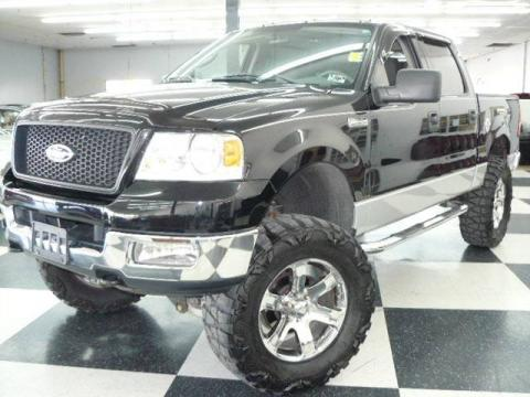 2004 F150 Xlt Supercrew Black Ford F150 Xlt Supercrew