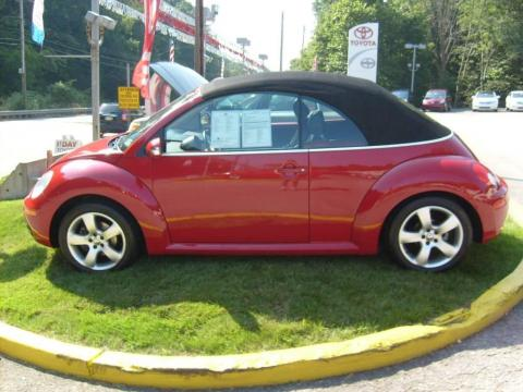 volkswagen beetle convertible red. Salsa Red 2006 Volkswagen New
