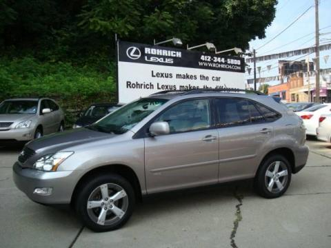 Used 2005 Lexus Rx 330 Awd Thundercloud Edition For Sale Stock