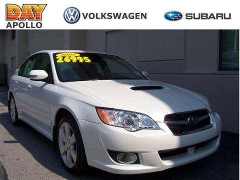 Used 2008 Subaru Legacy 2 5 Gt Limited Sedan For Sale Stock
