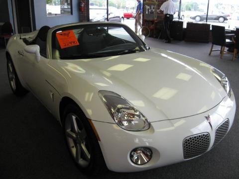 used 2009 pontiac solstice roadster for sale stock 5677 dealer car ad. Black Bedroom Furniture Sets. Home Design Ideas