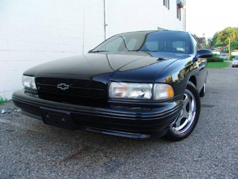 Black 1996 Chevrolet Impala SS with Gray interior Black Chevrolet Impala SS.