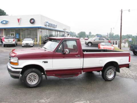 used 1993 ford f150 xlt regular cab 4x4 for sale stock p1089a dealer car. Black Bedroom Furniture Sets. Home Design Ideas
