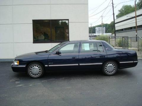 Used 1999 Cadillac Deville Sedan For Sale Stock