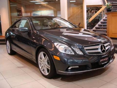 New 2010 Mercedes Benz E 350 Coupe For Sale Stock