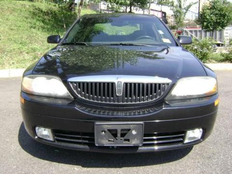 2002 Lincoln Ls V8. Black 2002 Lincoln LS V8 with