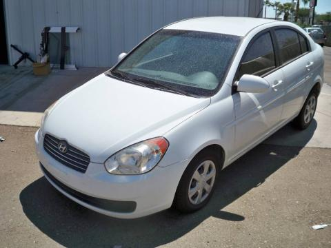 used 2006 hyundai accent gls sedan for sale stock. Black Bedroom Furniture Sets. Home Design Ideas