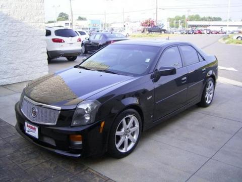 Used 2006 cadillac cts v series for sale stock sa0041 black raven cadillac cts v series click to enlarge publicscrutiny Image collections