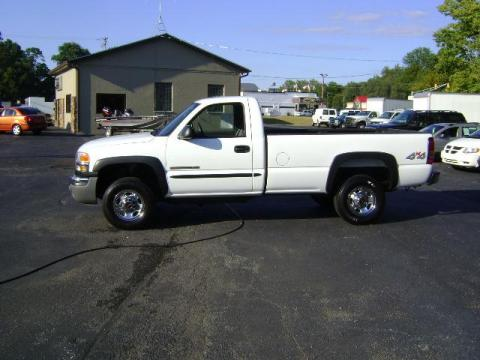 Used 2005 gmc sierra 2500hd regular cab 4x4 for sale for Bureau of motor vehicles bloomington indiana