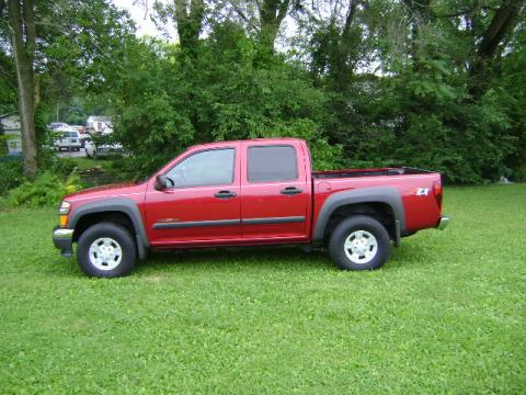 Used 2005 chevrolet colorado z71 crew cab 4x4 for sale for Bureau of motor vehicles bloomington indiana