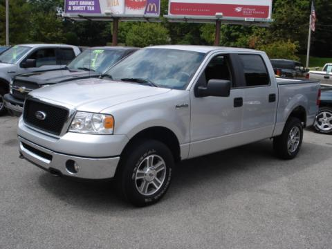Used 2007 ford f150 xlt supercrew 4x4 for sale stock for Bureau of motor vehicles bloomington indiana