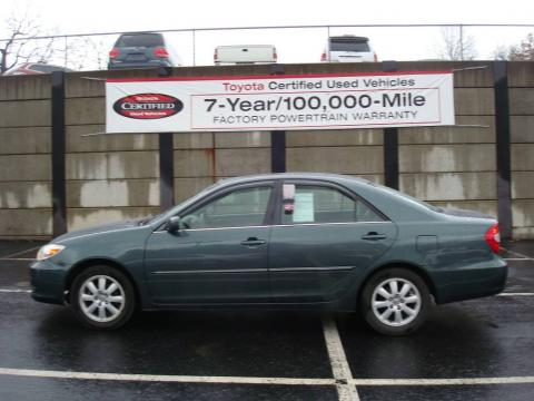 Auto Entertaintment And Lifestyle Toyota Camry 2002 Green