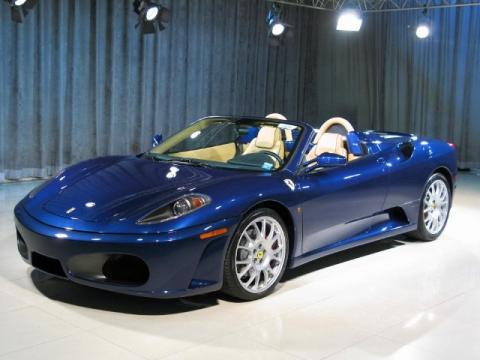 ferrari f430 blue