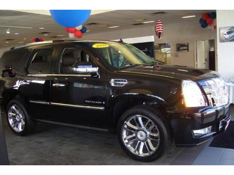 Black Cadillac Escalade 2009. Black Raven 2009 Cadillac