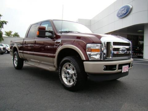 new 2010 ford f250 super duty king ranch crew cab 4x4 for sale stock f10079. Black Bedroom Furniture Sets. Home Design Ideas