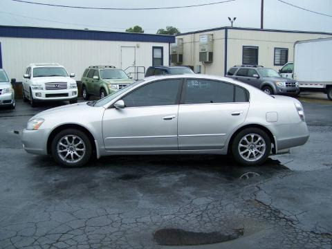 Sheer Silver Metallic Nissan Altima 25 S Click To Enlarge