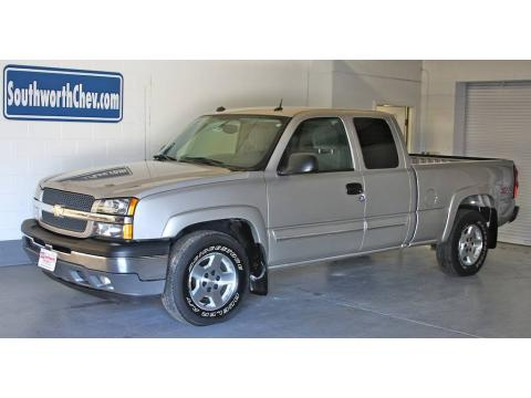 used 2005 chevrolet silverado 1500 z71 extended cab 4x4 for sale stock 51008. Black Bedroom Furniture Sets. Home Design Ideas