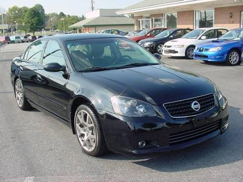 used 2006 nissan altima 3 5 se r for sale stock 138842. Black Bedroom Furniture Sets. Home Design Ideas