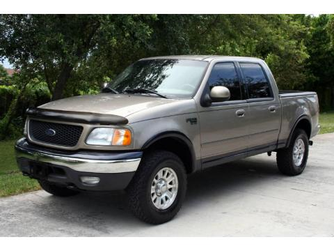 2001 F150 Supercrew >> Used 2001 Ford F150 Lariat SuperCrew 4x4 for Sale - Stock