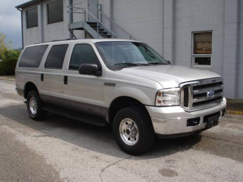 Silver Birch Metallic Ford Excursion Xlt X Click To Enlarge
