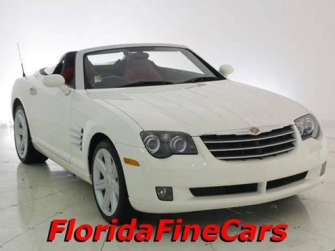 Alabaster White 2005 Chrysler Crossfire Limited Roadster with Dark Slate