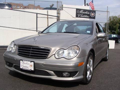 Pewter Metallic Mercedes-Benz C 230 Sport.  Click to enlarge.
