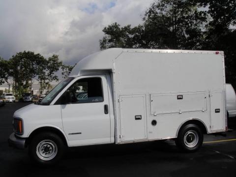used 2002 chevrolet express cutaway 3500 commercial van for sale stock u12797 dealerrevs. Black Bedroom Furniture Sets. Home Design Ideas