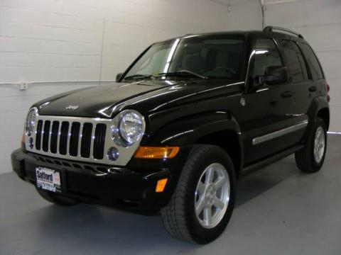 Black Clearcoat Jeep Liberty Limited 4x4. Click To Enlarge.