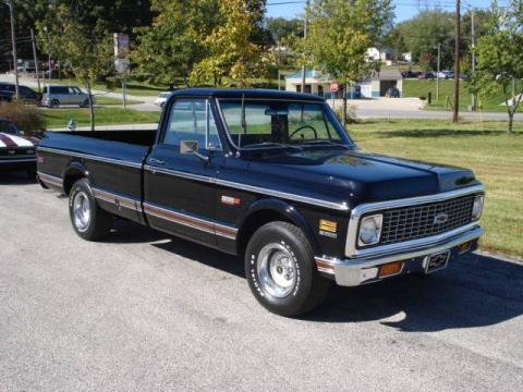 Used 1971 chevrolet c k c10 series cheyenne for sale for Bureau of motor vehicles bloomington indiana