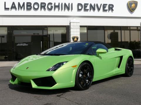New 2010 Lamborghini Gallardo Lp560 4 Spyder For Sale Stock