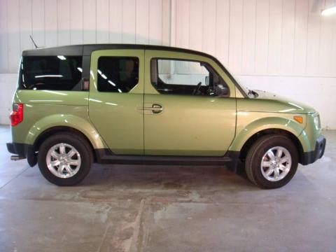 Kiwi Metallic 2006 Honda Element EX-P AWD with Black/Gray interior Kiwi