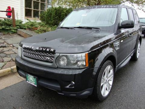 new 2010 land rover range rover sport supercharged for sale stock 11086l. Black Bedroom Furniture Sets. Home Design Ideas