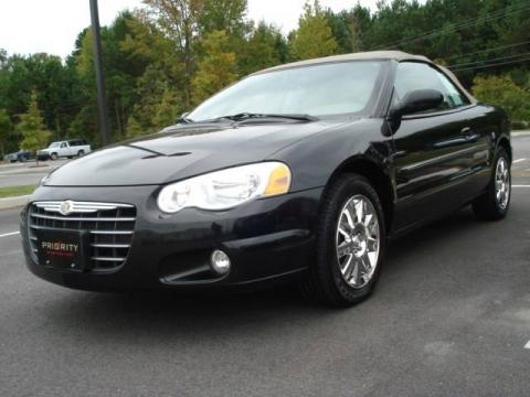 used 2004 chrysler sebring limited convertible for sale. Black Bedroom Furniture Sets. Home Design Ideas