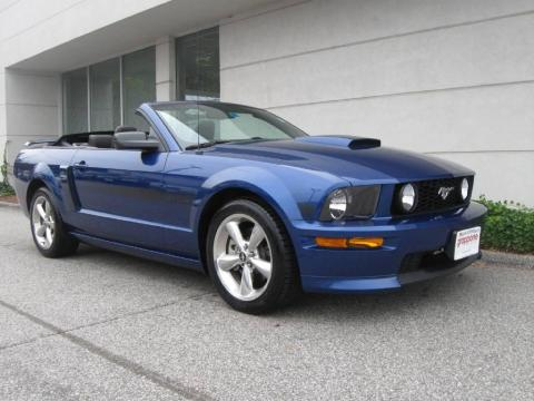 used 2007 ford mustang gt cs california special convertible for sale stock tn0735a. Black Bedroom Furniture Sets. Home Design Ideas