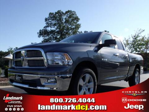 new 2010 dodge ram 1500 big horn quad cab for sale stock. Black Bedroom Furniture Sets. Home Design Ideas