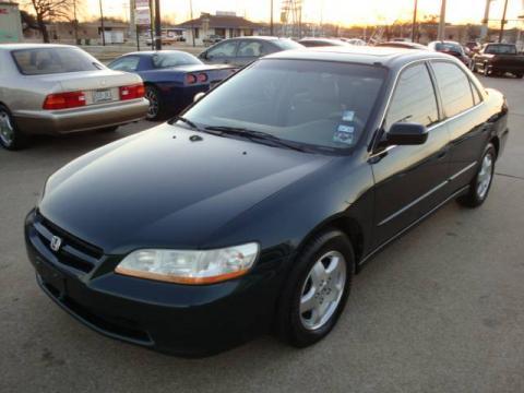 1998 Honda Accord. Pearl 1998 Honda Accord EX