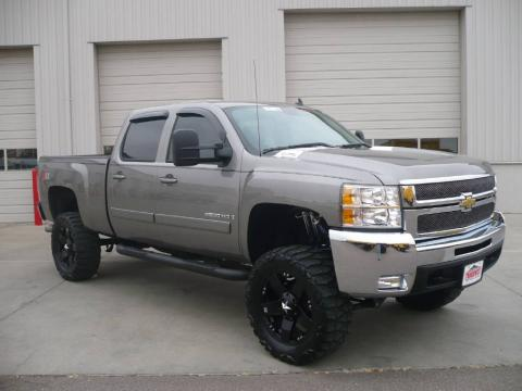 Used 2008 Chevrolet Silverado 2500hd Ltz Crew Cab 4x4 For