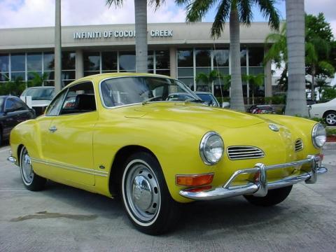 Coconut Creek Infiniti >> Used 1971 Volkswagen Karmann Ghia Coupe for Sale - Stock # ...