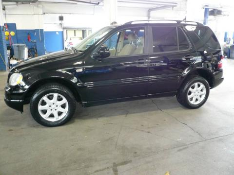 used 2001 mercedes benz ml 430 4matic for sale stock 9k. Black Bedroom Furniture Sets. Home Design Ideas