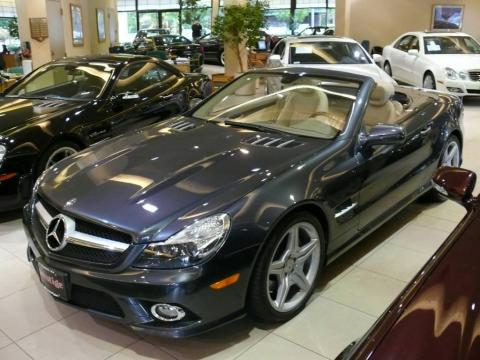 Used 2009 Mercedes Benz Sl 550 Roadster For Sale Stock