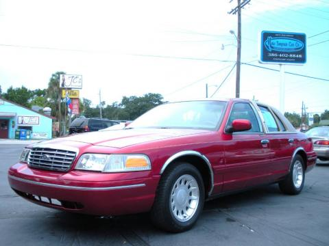 used 2000 ford crown victoria lx sedan for sale stock 1069 dealer car ad. Black Bedroom Furniture Sets. Home Design Ideas