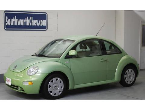2000 volkswagen beetle for sale. Green 2000 Volkswagen New