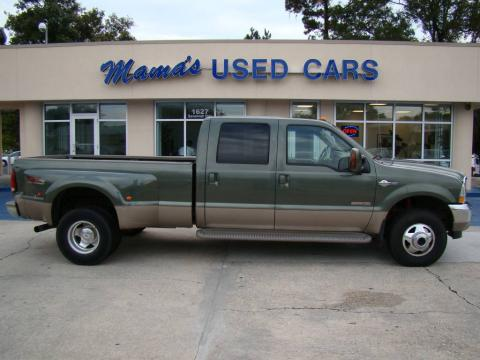 Used 2004 Ford F350 Super Duty King Ranch Crew Cab 4x4 Dually for Sale